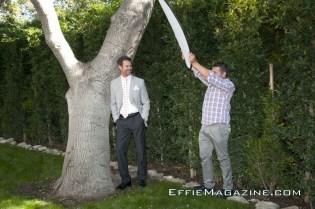 EffieMagazine.com Photo Shoot with Tuc Watkins - Effie Cornejo