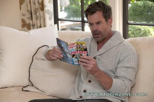 EffieMagazine.com Photo of Tuc Watkins reading Soap Opera Digest
