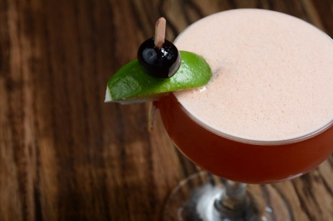 Effie Magazine photo: The Corner Door Jesse Pink Gin cocktail, EffieMagazine.com