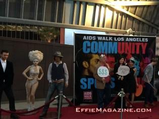 EffieMagazine.com, AIDS Walk Los Angeles, APLA, Madame Tussauds Hollywood