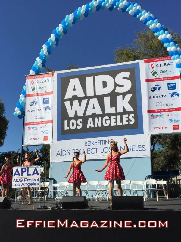 EffieMagazine.com, AIDS Walk Los Angeles, APLA