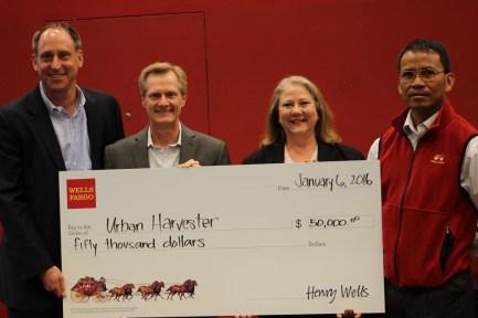 EffieMagazine.com, Focus On Philnathropy,Urban Harvester, Wells Fargo,