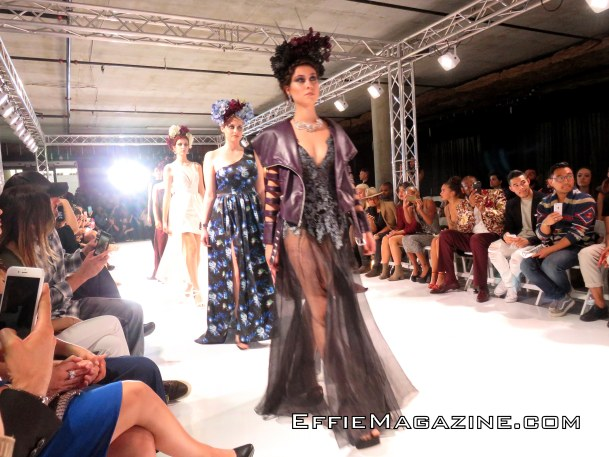 Effie Magazine, Los Angeles Fashion Week, O'Gara, Columbia Square, Cosmogyral