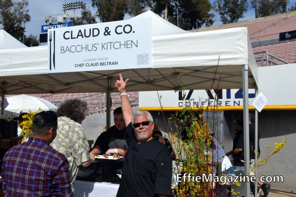Effie Magazine, Pasadena, Union Station Homeless Services, Masters Of Taste, Rose Bowl, Bacchus Kitchen