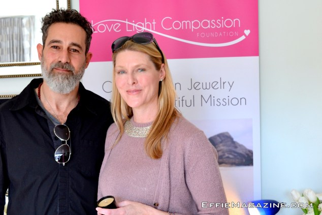 Actor Waleed Zuaiter & LLCF President Tracy Appleton
