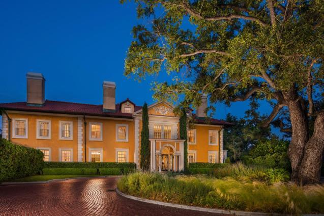 Twilight Shot of Arden Villa Facade