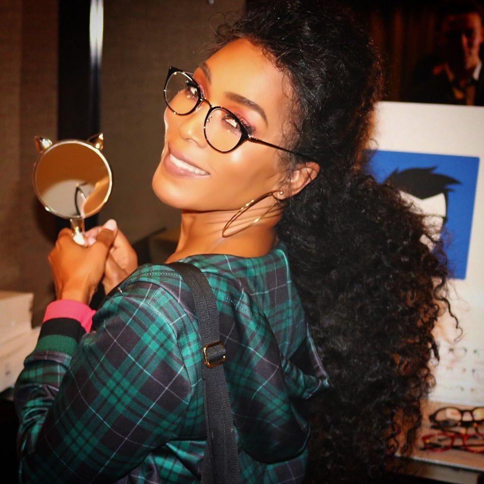Angela Bassett in GEEK EYEWEAR