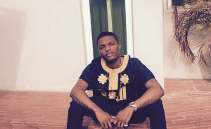 Wizkid shows off new Blings (Photo)