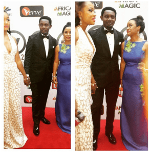 AY is Caught Ogling at another woman (Photo)