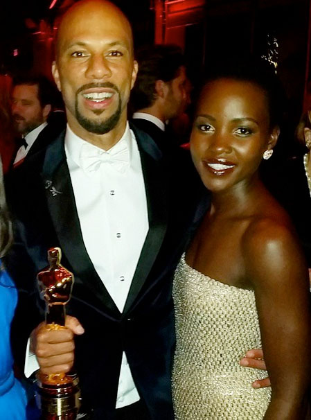 , Common and Lupita Nyong'o were spotted out on a Date (Photos), Effiezy - Top Nigerian News & Entertainment Website