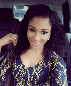 , Dabota Lawson Chills in Favorite Spot (Photo), Effiezy - Top Nigerian News & Entertainment Website