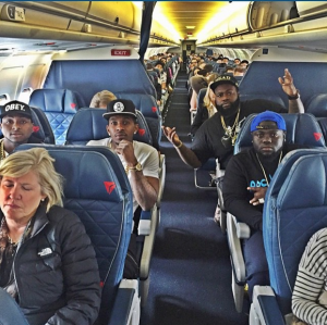 Davido And Friends Take The Train