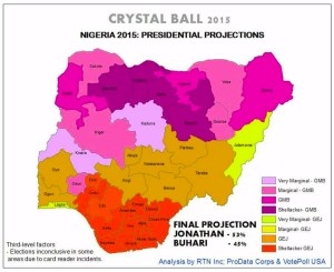 Nigeria Election – Crystal Ball Prediction (Photo)