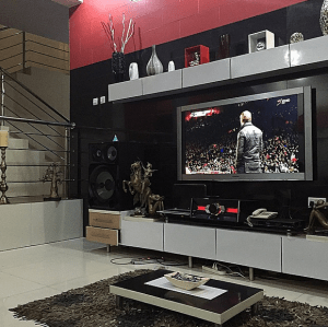 Peter (Of P-Square) Shows Off His Living Room & Sexy Abs – Photos