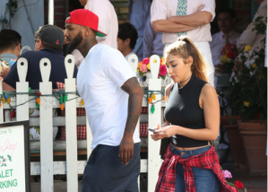 The Game spotted lunching with new Girlfriend (Photos + Video)
