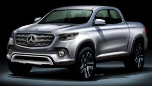 Look at the New Mercedes-Benz Pickup (Photo)