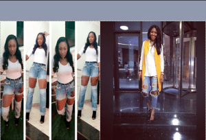Lilian Esoro & Ebube Nwagbo – distressed jeans battle, Who wore it better?