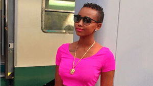 Huddah Monroe flaunts her Cleavage (Photo)