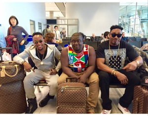 KCEE thrills his fans in Germany (Photos)