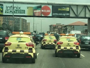 Look at the new LASTMA traffic warden cars (Photo)