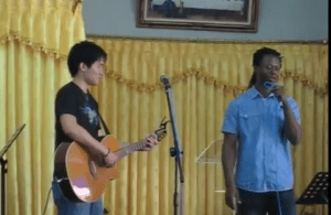 Nigerian Drug Trafficker Executed in Indonesia Today Sings Gospel Song Passionately (Must Watch Video)