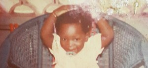 Toolz shares her bubbly baby photo