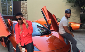 Wizkid on the set of his new Video Shoot (Photos)