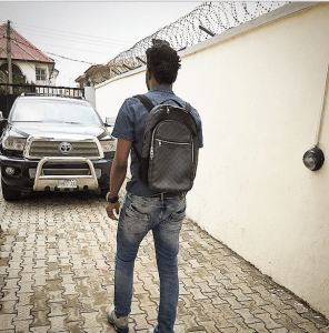 Basketmouth treks for President Jonathan (Photo)