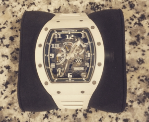 Chris Brown acquire a $200,000 Richard Mille Watch (Photo)