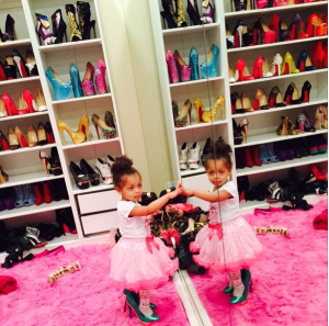 Dencia's Shoe Game is Tight (Photo)