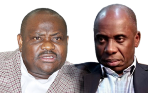 'Cry Cry Governor', Amaechi blasts Wike over 2019 election