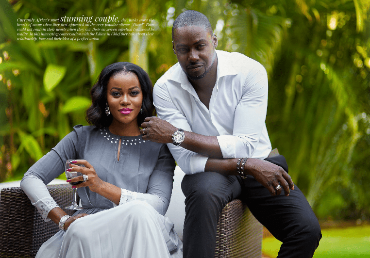 , Look at how Chris Attoh is enjoying his Wife, Damilola Adegbite (Photos), Effiezy - Top Nigerian News & Entertainment Website