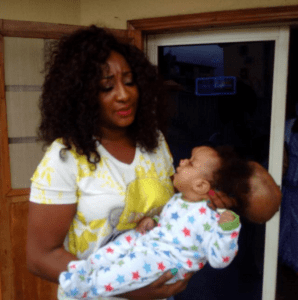 Ini Edo pleads with her fans to help a Children's Hospice (Photos)