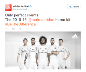 Real Madrid unveil new 2015/2016 Home and Away Kits (Photos)