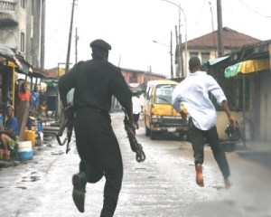 Policeman goes wild, kills colleague, two others at bank