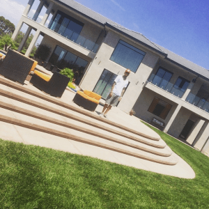 Chris Brown buys a new house and gets a new tattoo (Photos)