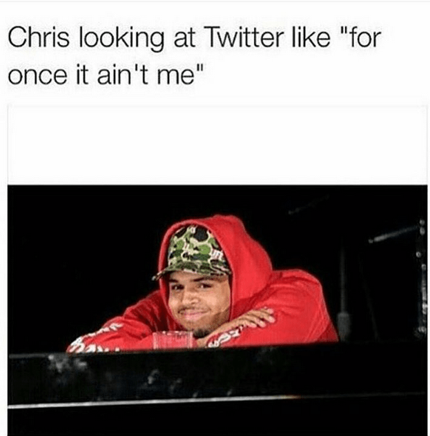 , Chris Brown's reaction to the twitter rants (Photo), Effiezy - Top Nigerian News & Entertainment Website