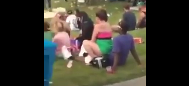 Look at this Couple Caught having Sex in the middle of Music Festival (Video)