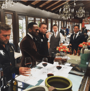 D'Banj enjoying the lifestyle, ahead of MTV Base Awards in South Africa