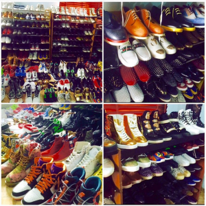 KCEE Shows Off His Huge Shoe Collection (Photos)