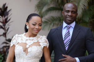Maje Ayida apologizes to wife, Toke Makinwa publicly over cheating allegations (Photos)