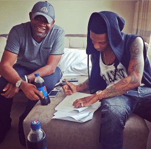 Wizkid also signs another 2 years endorsement with Pepsi (Photo)