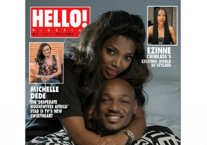 2face and Annie Idibia cover Hello Nigeria Magazine with Love (Photos)
