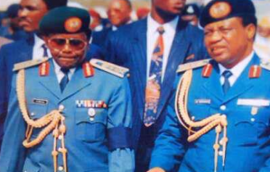 Gen. Ibrahim Babangida Pays Tribute To Late Sani Abacha, As He Turns 74