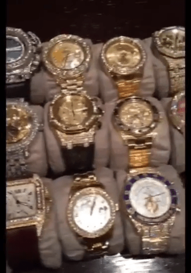 a watch accused image before at daily showing wearing watches sport boxing flaunts conor mayweather mail of cheap article floyd mcgregor