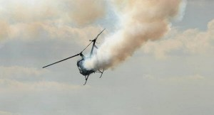 Helicopter flying from oil rig crashes in Nigeria, killing 4