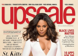 Sanaa Lathan stuns on the cover of Upscale Magazine (Photos)