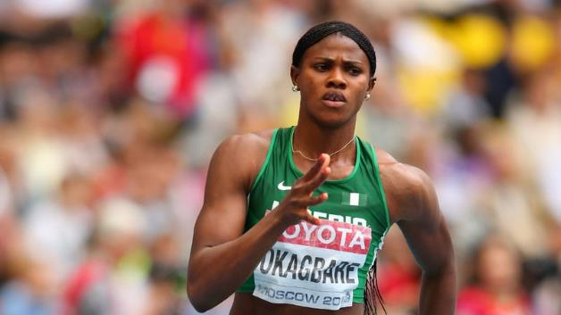 Nigerian Athlete, Blessing Okagbare becomes Guinness world record holder, Nigerian Athlete, Blessing Okagbare becomes Guinness world record holder, Effiezy - Top Nigerian News & Entertainment Website
