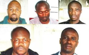 NDLEA arrest 5 man drug trafficking syndicate with N57m cocaine