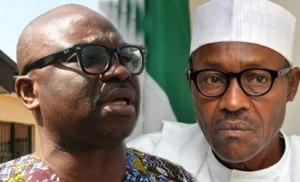 Fayose condemns petrol price increment, says this demonstrates Buhari's govt hate for Nigerians